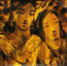 Untitled 5 by Sulakshana Dharmadhikari, , , Brown color