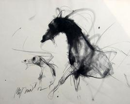 Motion I by Mithun Dutta, , , Gray color