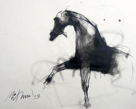 Motion III by Mithun Dutta, , , Gray color