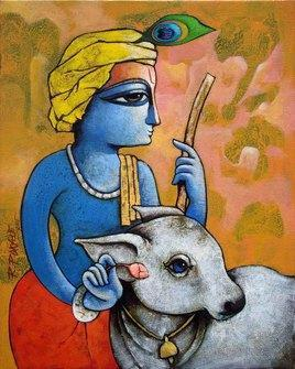 Bansidhar-22 by Ramchandra Pokale, , , Brown color