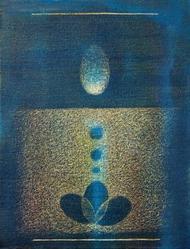 Feeling of Goodness 2 by Hanumantha Rao Devulapalli, , , Blue color