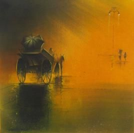 MonsoonRide1 by Somnath Bothe, , , Brown color