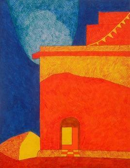 TheHouse2 by Amit Biswas, , , Orange color