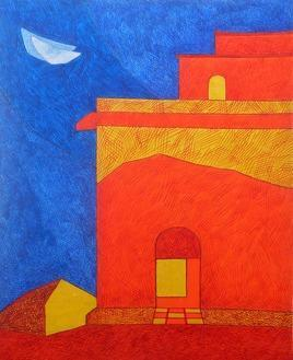 TheHouse3 by Amit Biswas, , , Blue color