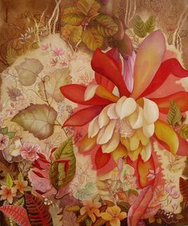 Nature3 by Debarati Roy Saha, , , Brown color