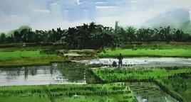 FarmingLand2 by Asim Paul, , , Green color