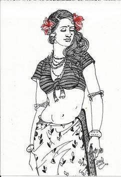 BeautyBlackWhite1 by Ramchandra Kharatmal, , , Gray color