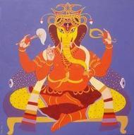 SiddhiBinayak1 by Bhaskar Lahiri, , , Brown color