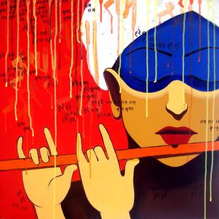 Dhun_1 by Prakash Pore, , , Red color