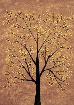 Treescape6 by Sumit Mehndiratta, , , Brown color