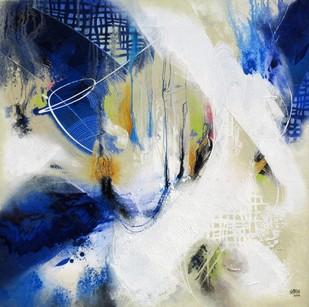 Untitled by Shirish Deshpande, , , Blue color