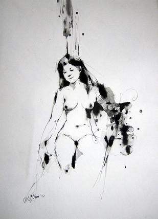 Dream by Mithun Dutta, , , Gray color