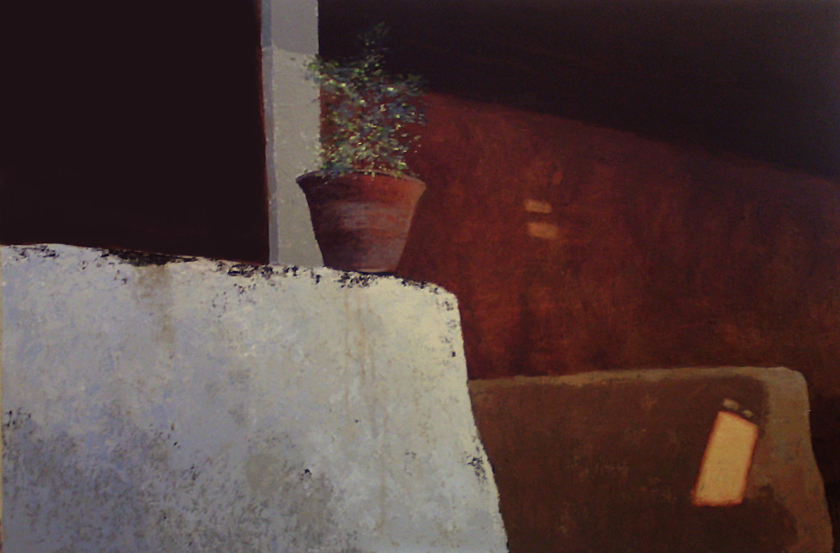 Untitled by Sandeep Ghule, Realism Painting, Acrylic on Canvas, Brown color