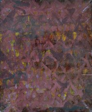 Untitled 3 by Arpita Yogesh Pawar, Abstract Painting, Acrylic on Board, Brown color