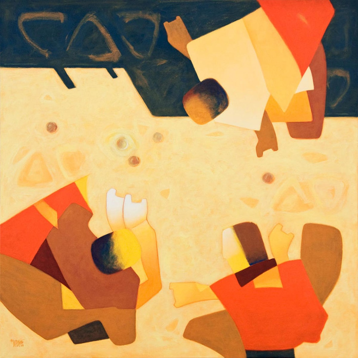 A Game Digital Print by Dipak Asole,Decorative