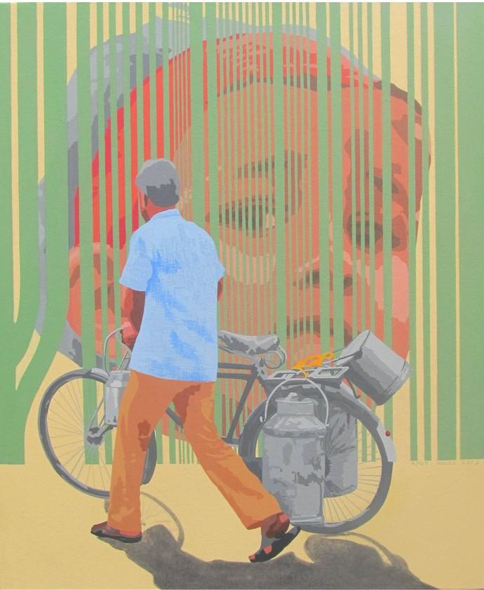 Crisis Digital Print by Amit Nayek,Pop Art