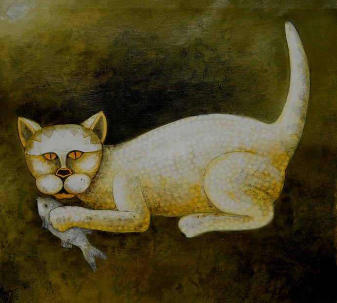Hunter ii Digital Print by Sumitra Chattopadhyay,Fantasy