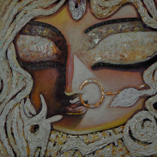 Chandi by Subrata Ghosh, , , Brown color