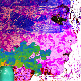Dream by Sayak Mitra, , , Purple color