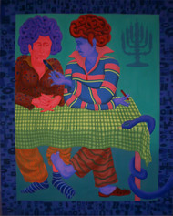 The Elapsed Angels by Pradiptaa Chakraborty, , , Blue color