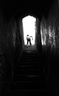 Into The Light by Dominic Lazarus, , , Black color