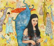 Strangers Digital Print by Abhisek Dey,Fantasy