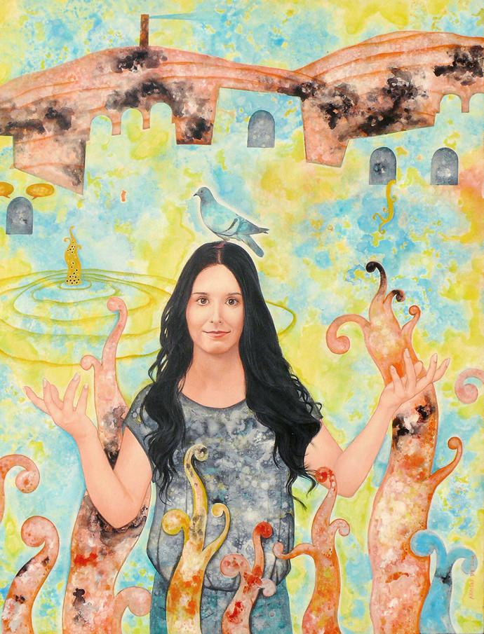Fan of Mr Burman Digital Print by Abhisek Dey,Fantasy