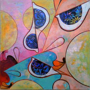 360°+ve-2 by Saumya Bandyopadhyay, , , Brown color