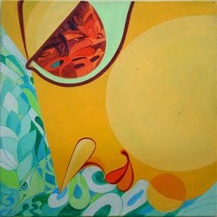 360°+ve - 7 by Saumya Bandyopadhyay, , , Beige color