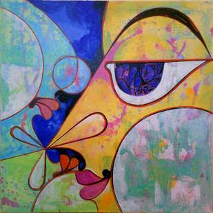360°+ve - 8 by Saumya Bandyopadhyay, , , Brown color