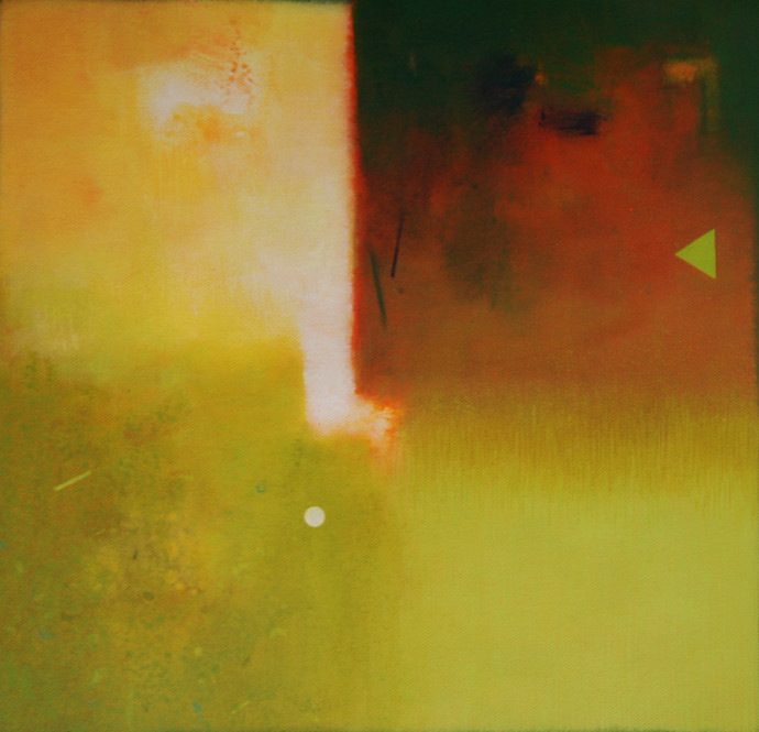Involution by Ganpat N Bhadke, , , Green color