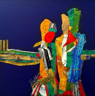 Memories of Yore by Sheetal Singh, , , Blue color