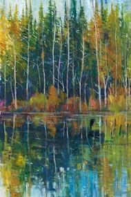 Pine Reflection I Digital Print by O'Toole, Tim,Impressionism