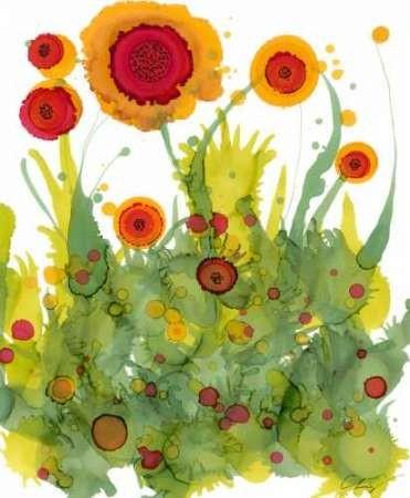 Poppy Whimsy II Digital Print by Baynes, Cheryl,Decorative