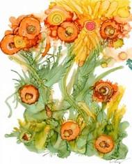 Sunlit Poppies III Digital Print by Baynes, Cheryl,Decorative