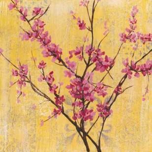 Fuchsia Blossoms I Digital Print by Goldberger, Jennifer,Decorative