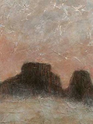 Misty Morning Mesa II Digital Print by Stramel, Renee W.,Impressionism