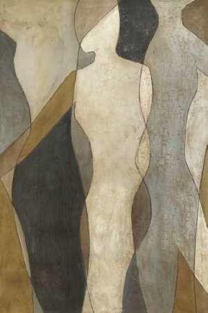 Figure Overlay I Digital Print by Meagher, Megan,Impressionism
