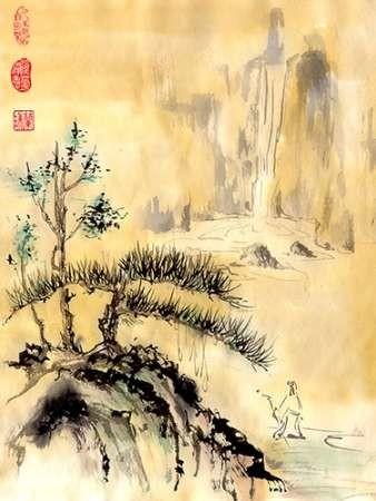 Distant Journey Digital Print by Rae, Nan,Impressionism