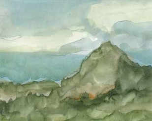 Plein Air Mountain View I Digital Print by Harper, Ethan,Impressionism