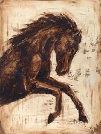 Weathered Equestrian II Digital Print by Harper, Ethan,Impressionism