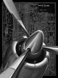 Vintage Plane I Digital Print by Harper, Ethan,Realism