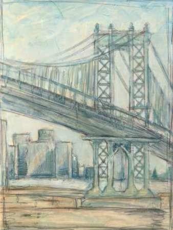 Metropolitan Bridge II Digital Print by Harper, Ethan,Impressionism