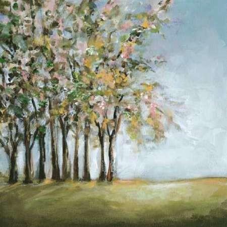 Tree in Spring Digital Print by Long, Christina,Impressionism