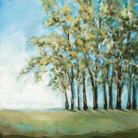 Tree in Summer Digital Print by Long, Christina,Impressionism