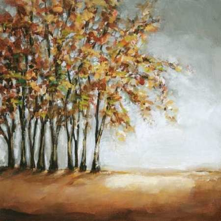 Tree in Fall Digital Print by Long, Christina,Impressionism