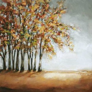 Tree in Fall Digital Print by Long, Christina,Impressionism