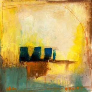 Aquamarine Aura II Digital Print by Goldberger, Jennifer,Abstract