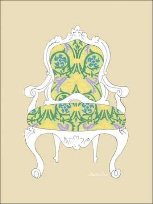 Decorative Chair II Digital Print by Zarris, Chariklia,Decorative