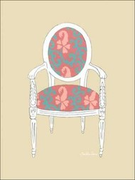 Decorative Chair IV Digital Print by Zarris, Chariklia,Decorative